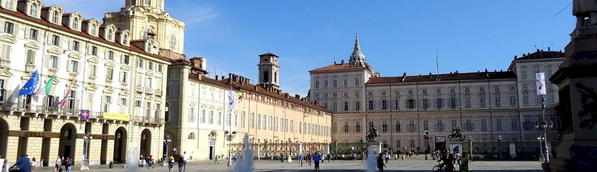 square in Turin